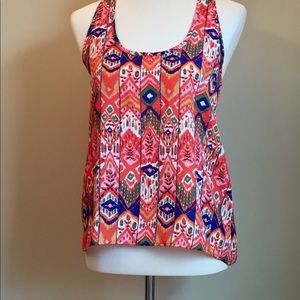 Collective Concepts Racerback Tribal Tank Top XS